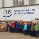 children help fight hunger in the CHS Harvest for Hunger drive