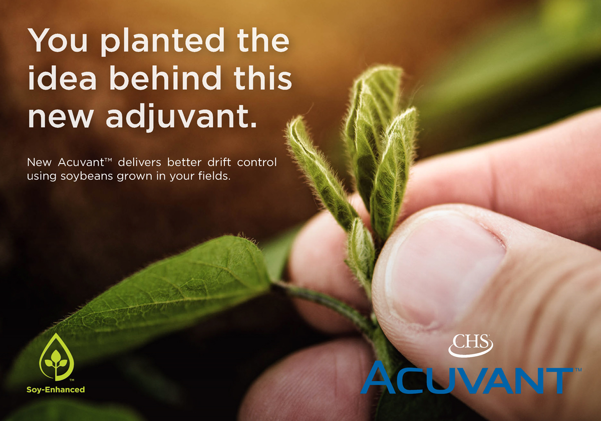 New CHS Acuvant delivers better drift control using soybeans grown in your field. Learn more.