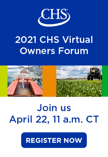 2021 CHS Virtual Owners Forum. April 22, 11 am CT. Register now. Popup banner.